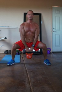 Michael 30 min circuit with kettle bells